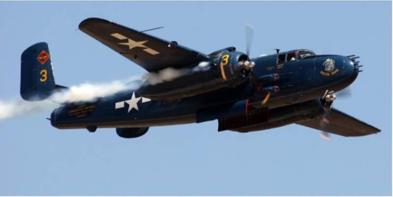 North American B-25/PBJ-1