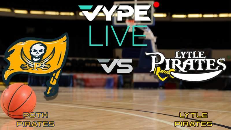 VYPE Live- Basketball: Poth vs Lytle
