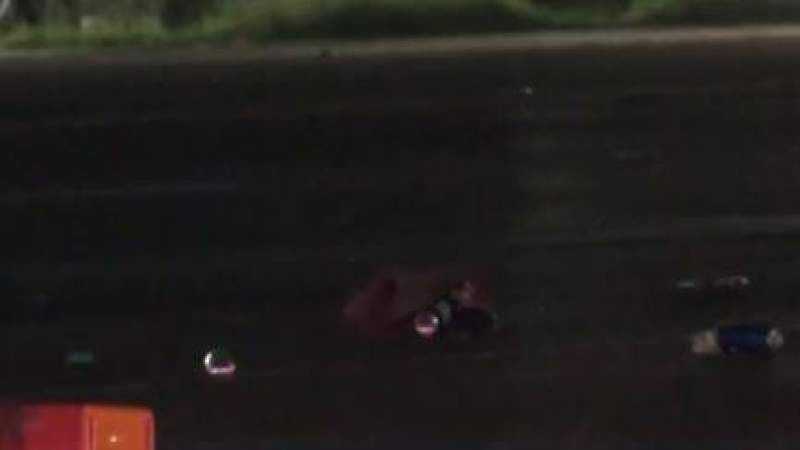 Woman ran over by SUV, found dead in the road