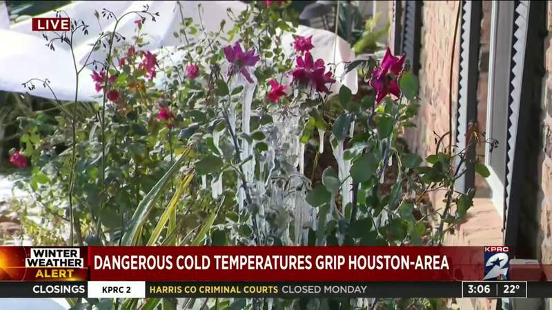 Residents in Meyerland dealing with frozen pipes