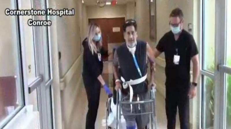 HPD sergeant released from hospital after fight with COVID-19