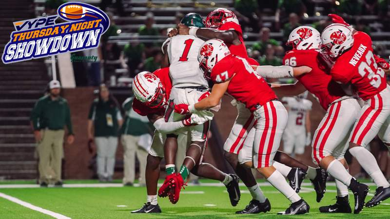 VYPE TNS Through the Lens presented by  Guaranty Bank & Trust: Katy downs The Woodlands 21-14