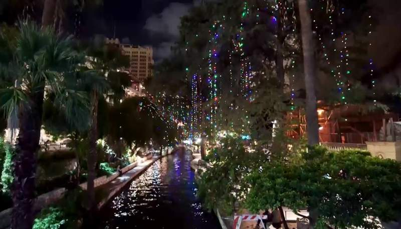 The San Antonio River Walk is illuminated a little earlier than usual thanks to Mayor Ron Nirenberg.