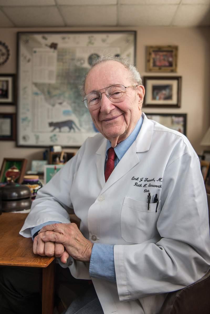 Oncologist Emil J Freireich, M.D.