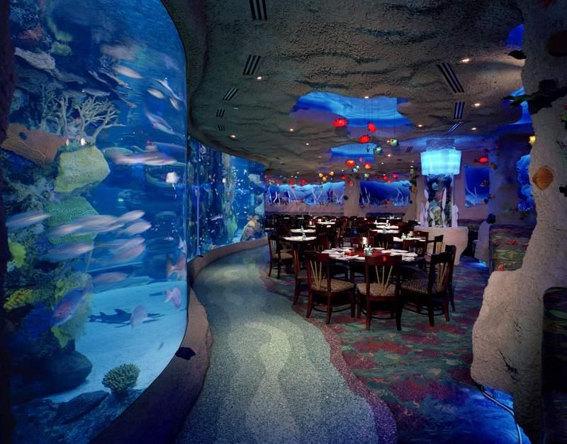 Houston's Downtown Aquarium Restaurant