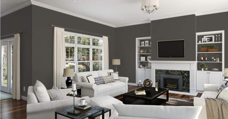 Sherwin-Williams has selected Urban Bronze SW 7048 as the color of the year for 2021.