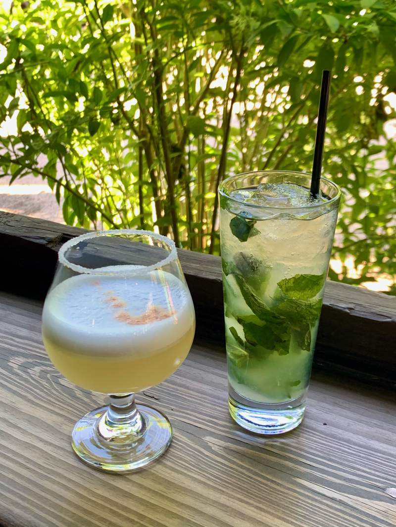 Under the Volcano owner Peter Mitchell shares the recipes to mix up a classic Cuban Mojito and Peruvian Pisco Sour.