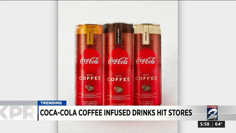 Coca-Cola coffee-infused drinks hit stores