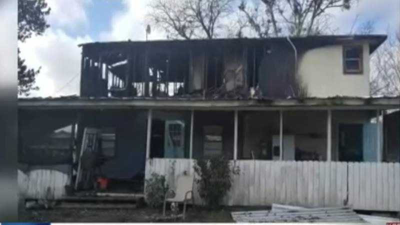 Wharton County families loses everything in home fire