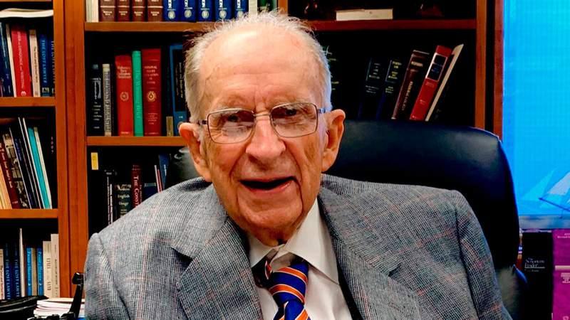 This image provided by Bryan A. Garner shows Judge Thomas M. Reavley.