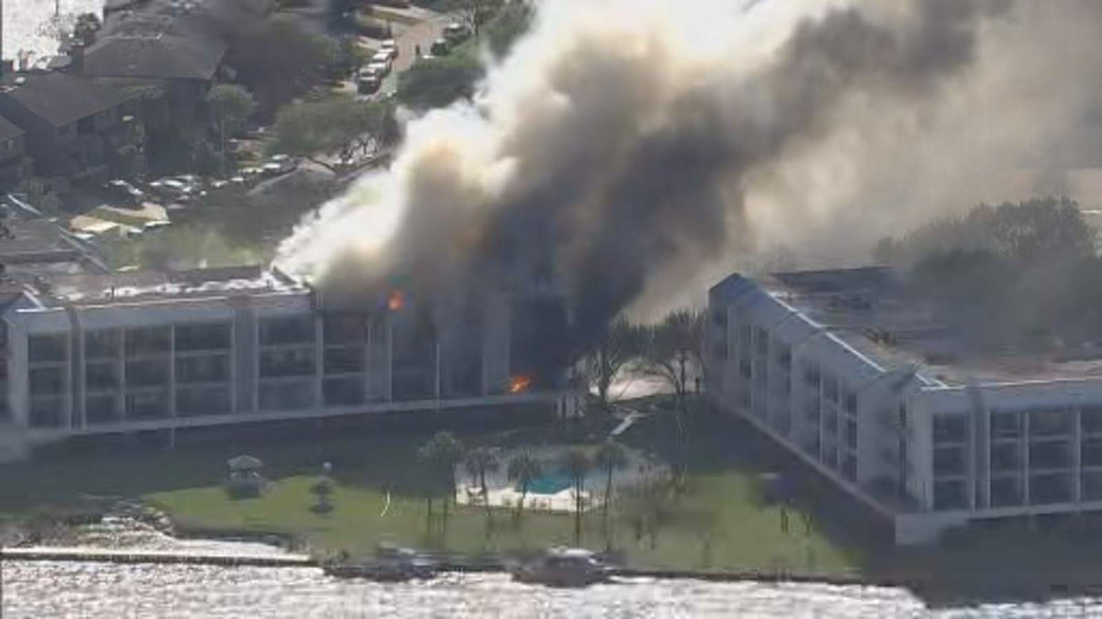 35% of condominium in Nassau Bay damaged after large fire
