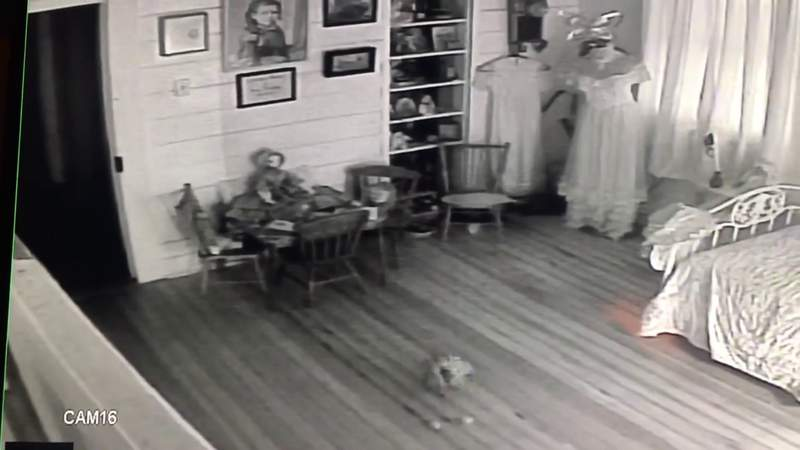 Video at historic, haunted Magnolia Hotel in Seguin shows lots of activity in children's room
