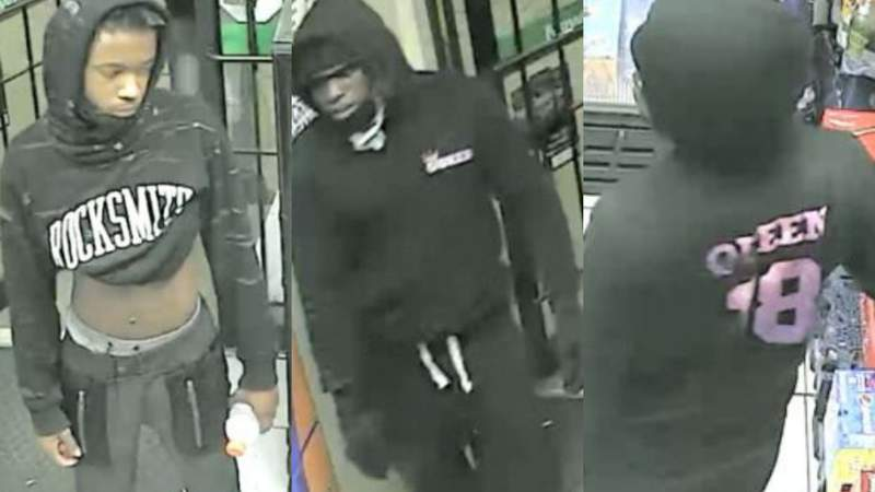 Houston police asking for public's assistance identifying aggravated robbery suspects
