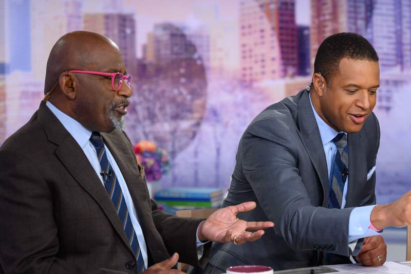 Al Roker and Craig Melvin on the TODAY set