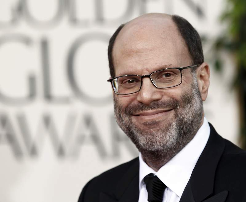 FILE - Scott Rudin arrives at the Golden Globe Awards in Beverly Hills, Calif. on Jan. 16, 2011. Rudin, one of the most successful and powerful producers, with a heap of Oscars and Tonys to show for it, has long been known for his torturous treatment of an ever-churning parade of assistants. Such behavior has long been engrained  and sometimes even celebrated  in show business. (AP Photo/Matt Sayles, File)