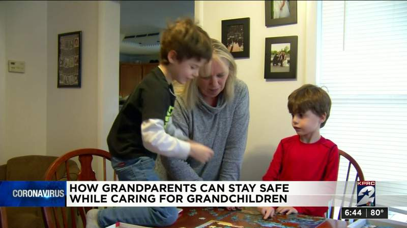 How grandparents can stay safe while caring for grandchildren during COVID-19 pandemic