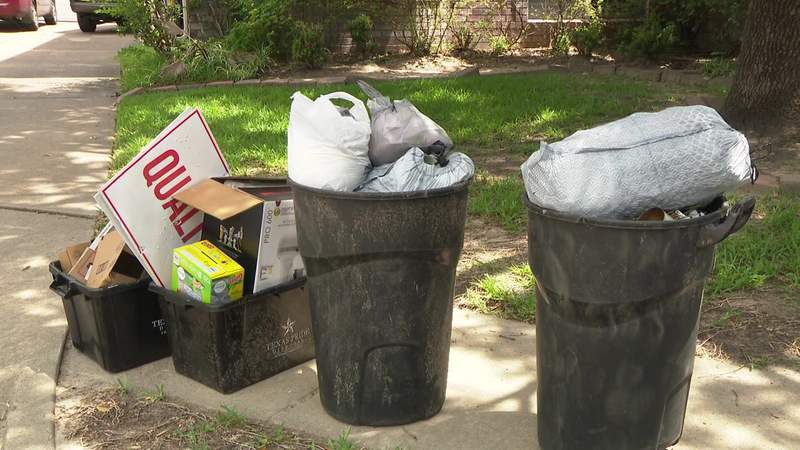 Trash and recycling pick-up delays
